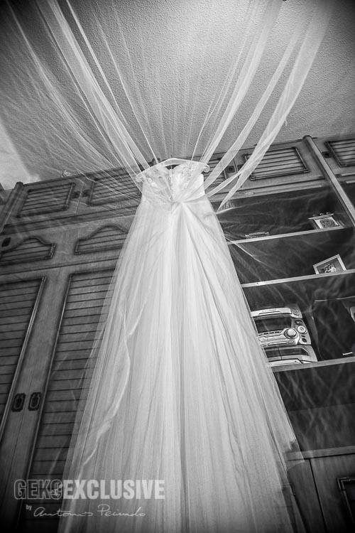 Siempre hay que tener un recuerdo del vestido de novia